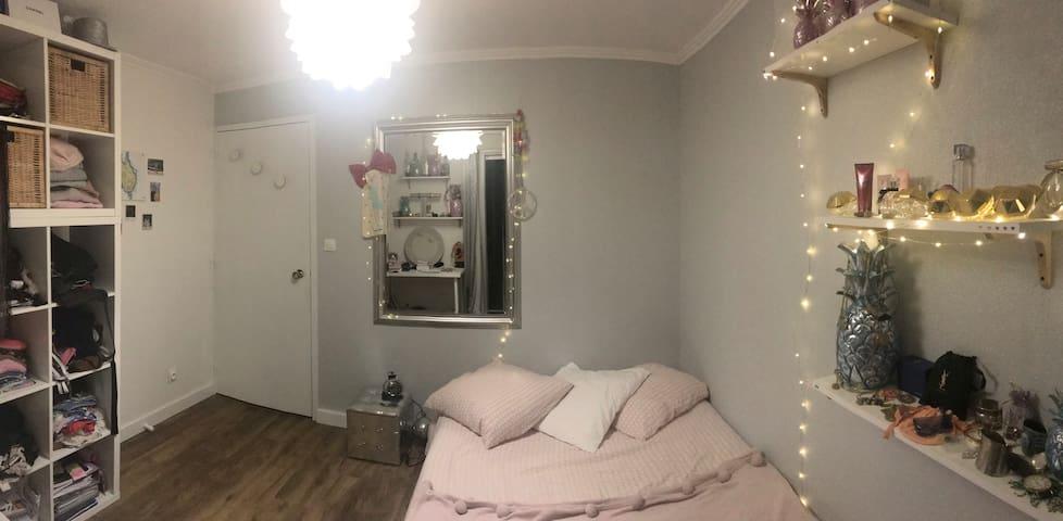 Chambre privée dans un joli appartement cosy