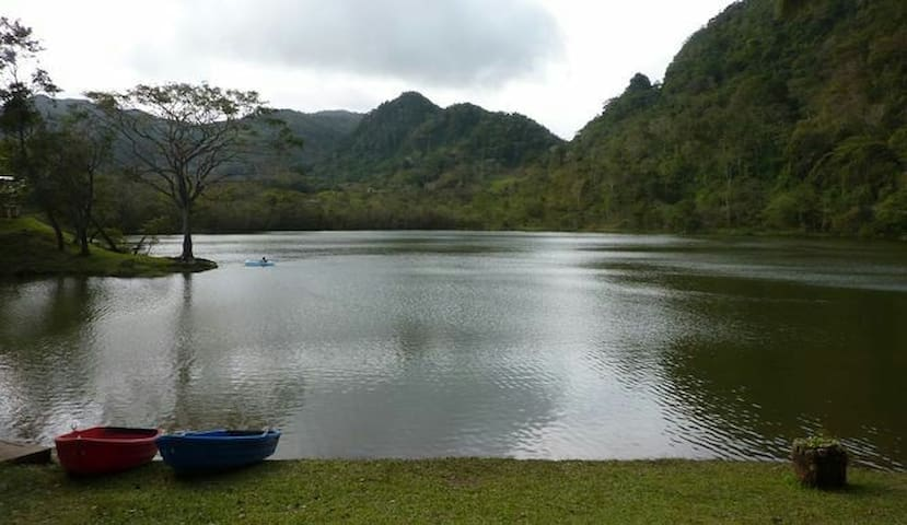Country house in La Laguna de San Carlos Panama - Aroma - Hus