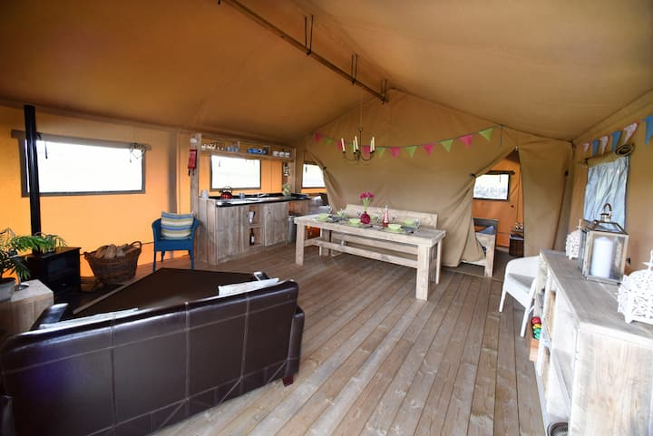 Luxury Safari Tent - Hazel in Central Scotland