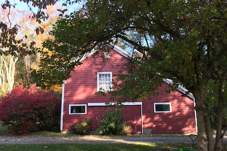 Charming 2 Bdrm Barn Near New Haven - Woodbridge - Apartemen