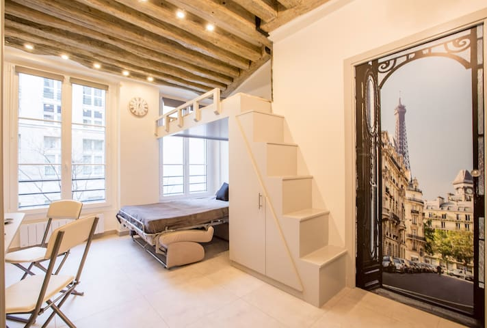 Elegant studio in heart of Paris