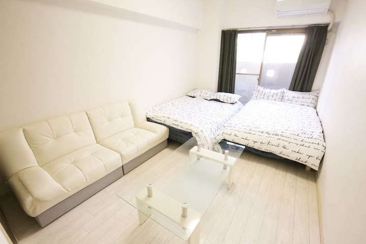 32☆4ppl stay☆WiFi free☆7min from st.☆Near Sakae☆