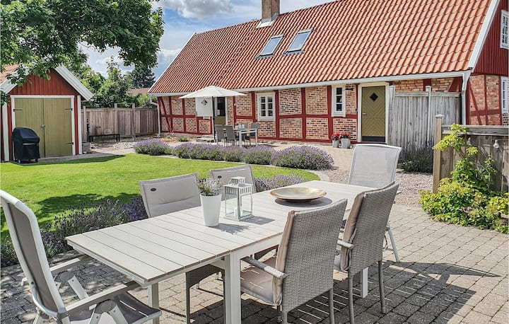 Stunning home in Jonstorp with WiFi and 3 Bedrooms