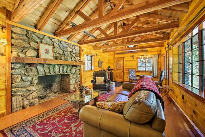 NEW-Renovated 1920s Cabin 1Mi to Mt Baldy Ski Lift