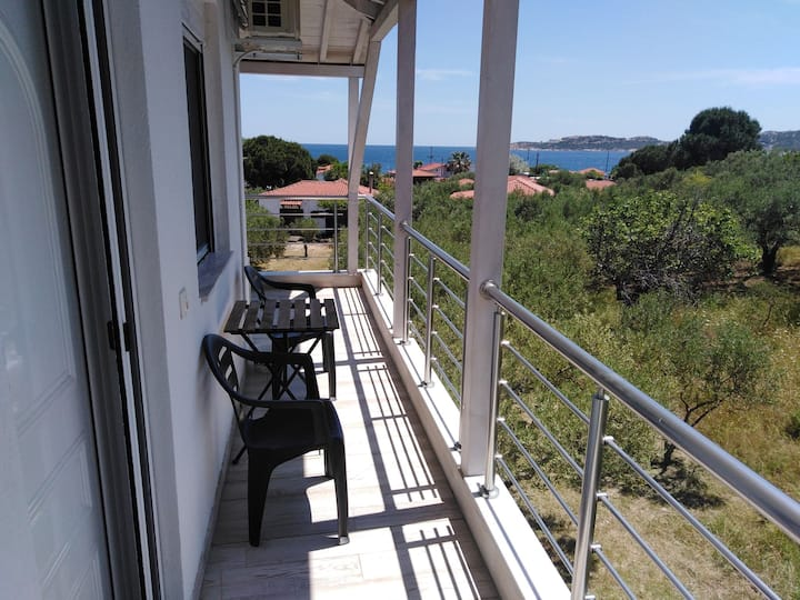 Studio 2 - Filio - Valti - Beach - Sithonia-View