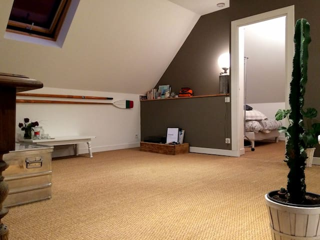 Appartement cosy à deux pas des quais et du centre - Quimper - Leilighet