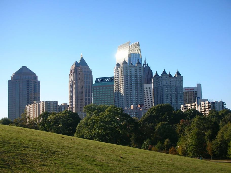 Walking Distance to Piedmont Park