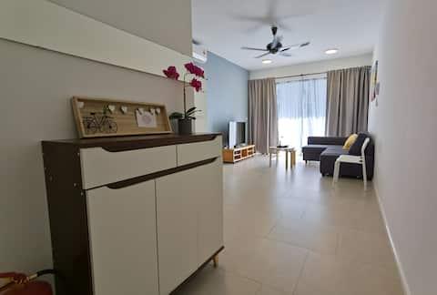 Ny komfortabel og hyggelig 3R2B-leilighet