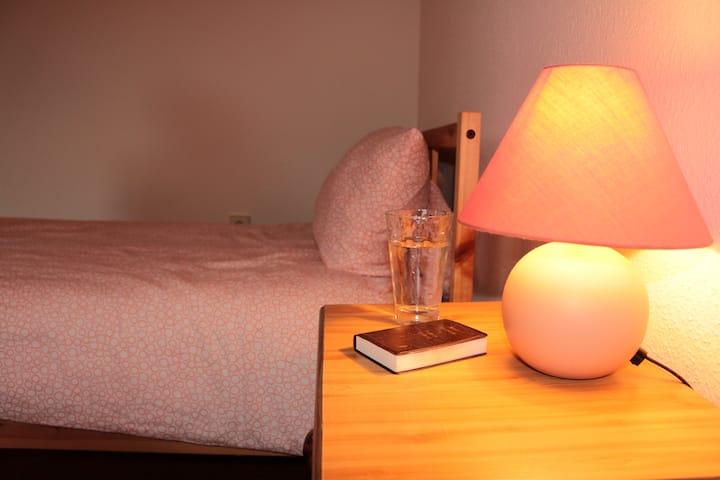 Einfache aber gemütliche Wohnung nahe Heidelberg