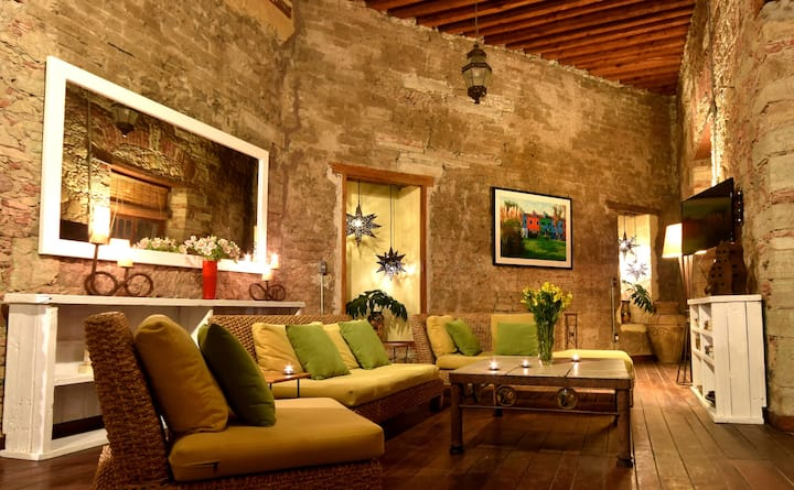 Spectacular House in Guanajuato's Historic Center