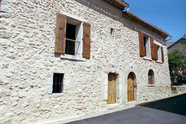 Loue Maison pour 5 pers à 5' du lac d'Esparron - Esparron-de-Verdon - Huis