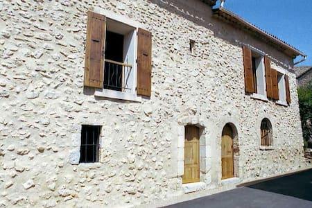 Loue Maison pour 5 pers à 5' du lac d'Esparron - Esparron-de-Verdon - Casa