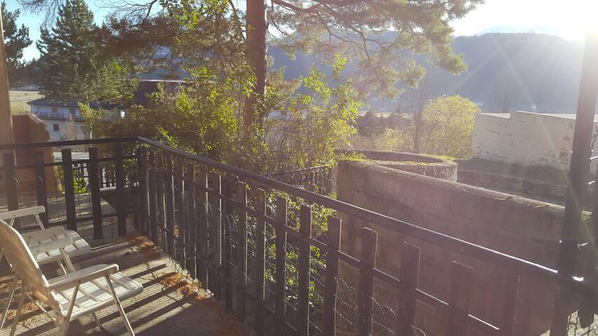 Spazioso appartamento in Residence con giardino