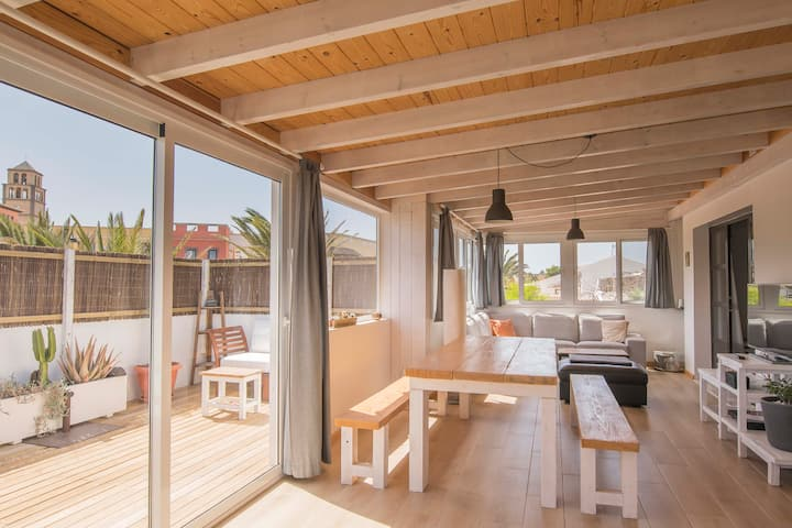 Sunny, cosy and relaxing loft apartment