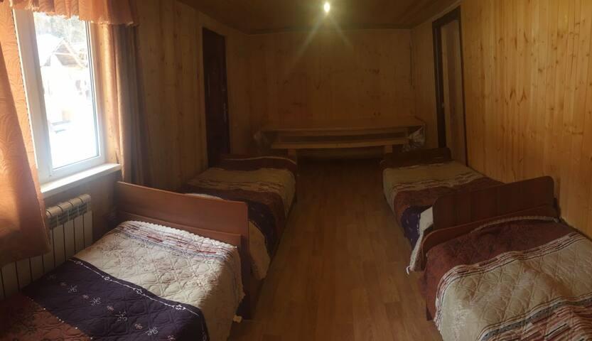у реки София десятиместный котедж - Arkhyz - Natur-Lodge