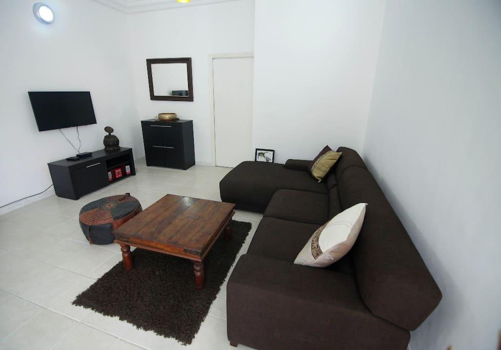 La salon / The living room.