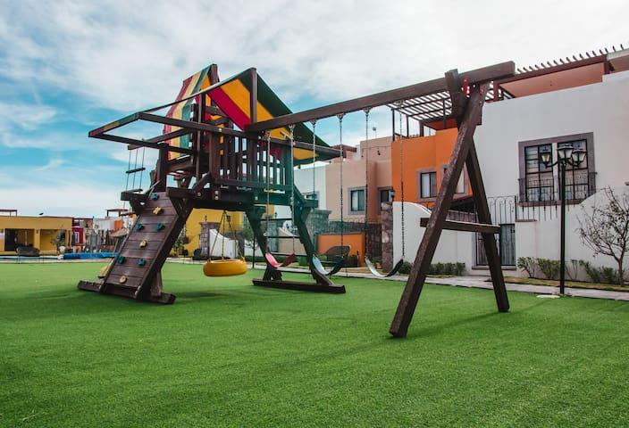 Área común para los niños