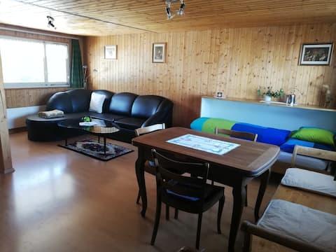 Geräumige 1-Zimmer-Wohnung auf dem Land