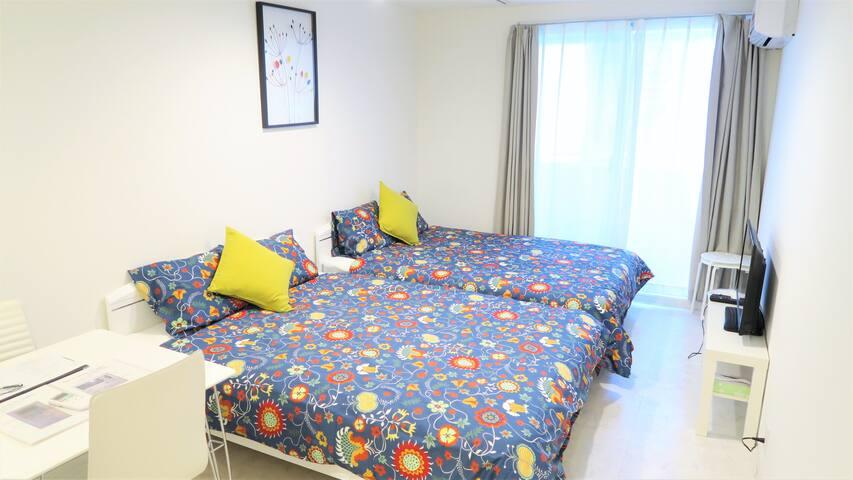 NAMBA 1 MIN DESIGNER RESIDENCE 402 - Osaka - Apartemen