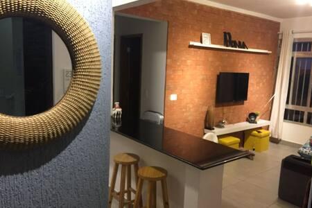 Apartamento 150m praia Enseada - Ambiente familiar