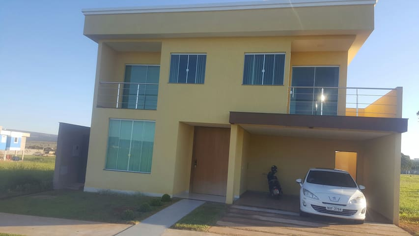 Suite em residência em Brasília.