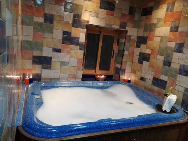 Cottage-Villa-Salle de bain Privée-6/9 plazas