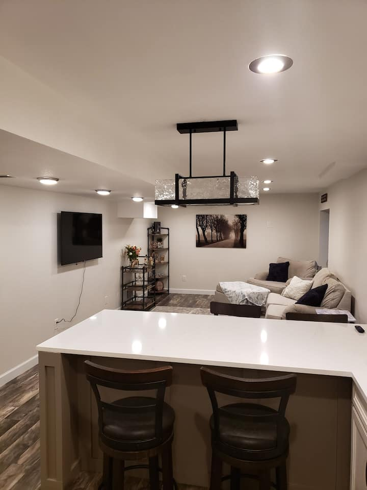 Basement Studio Apartment