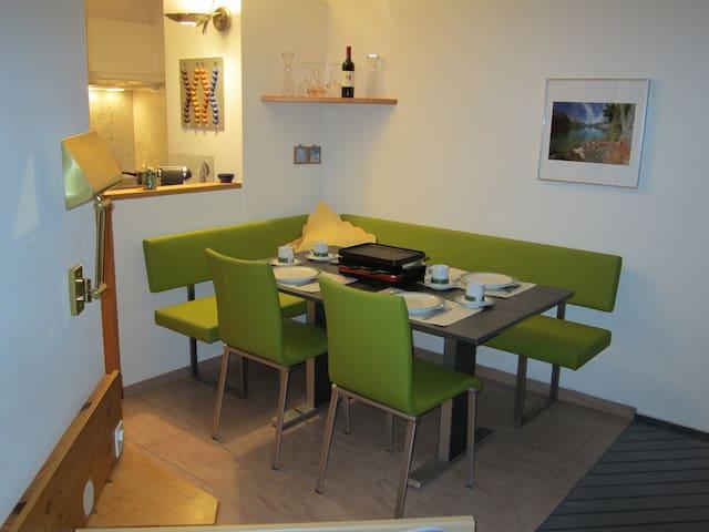 Wohnung mit Hallenbad und Sauna, nahe Bergbahnen