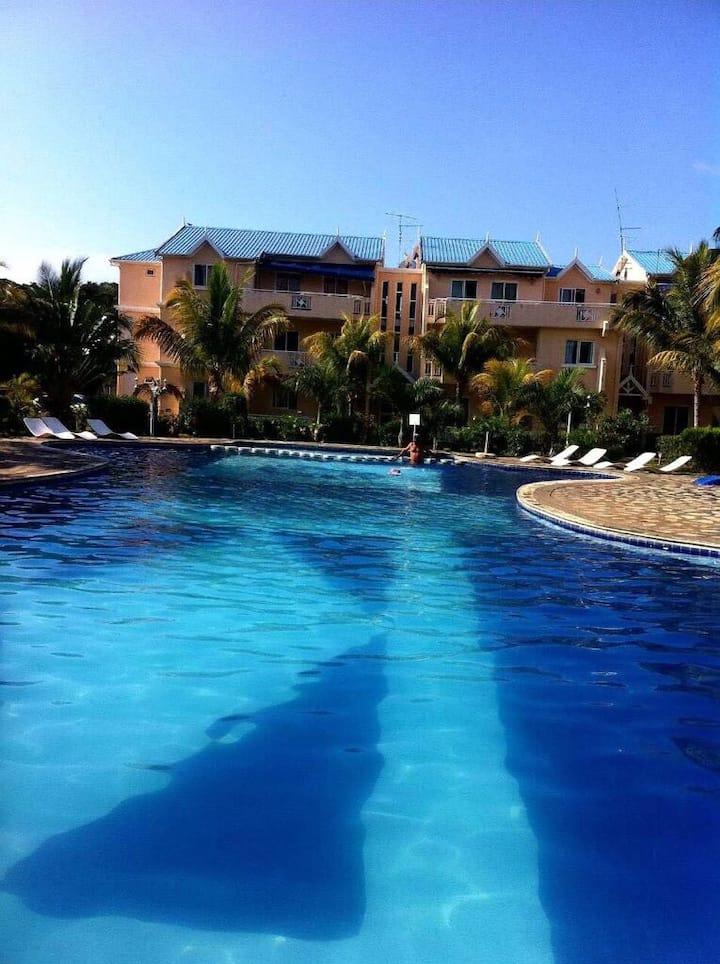 L'appartement avec piscine