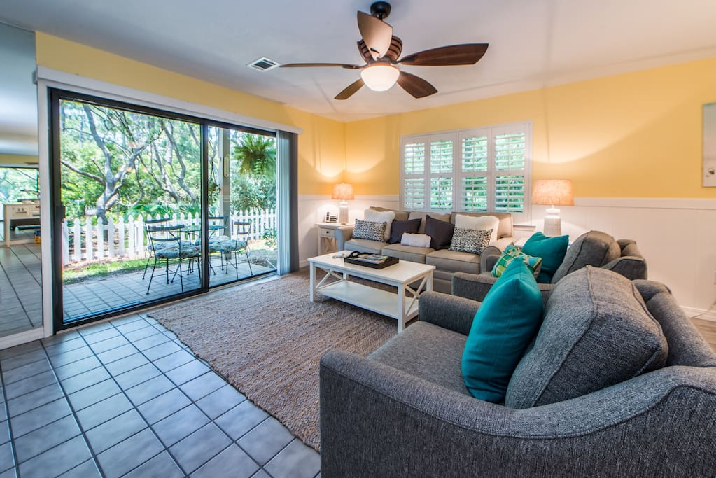 Living Space Next to Patio