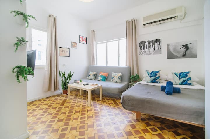 Affordable Studio So-Close-To-The-Beach ❤❤❤