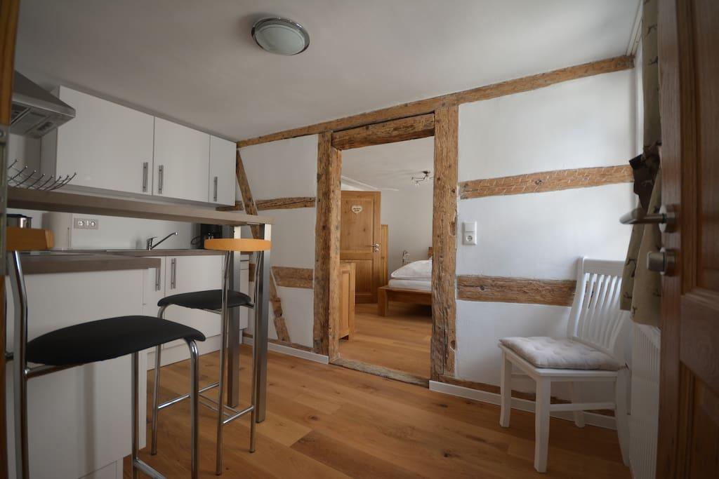gem tliches apartment i d altstadt von rothenburg wohnungen zur miete in rothenburg ob der. Black Bedroom Furniture Sets. Home Design Ideas