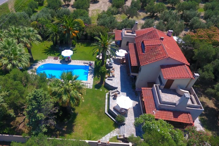 Villa Tropicalia  (2   suites  )Pool Kriopigi