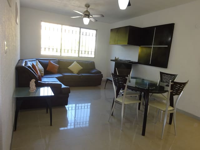 DEPARTAMENTO GALAXIA EN EL CENTRO DE CANCUN - Cancún - Appartement