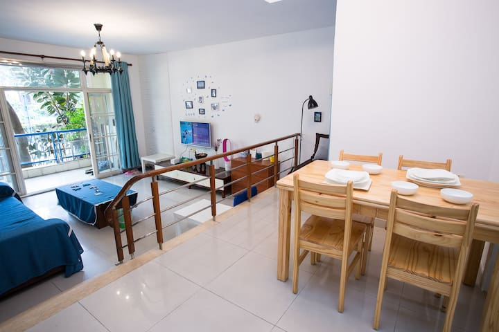 Near Canton Fair/2rooms/ 5min MRT/5min Chimelong - Гуанчжоу - Квартира
