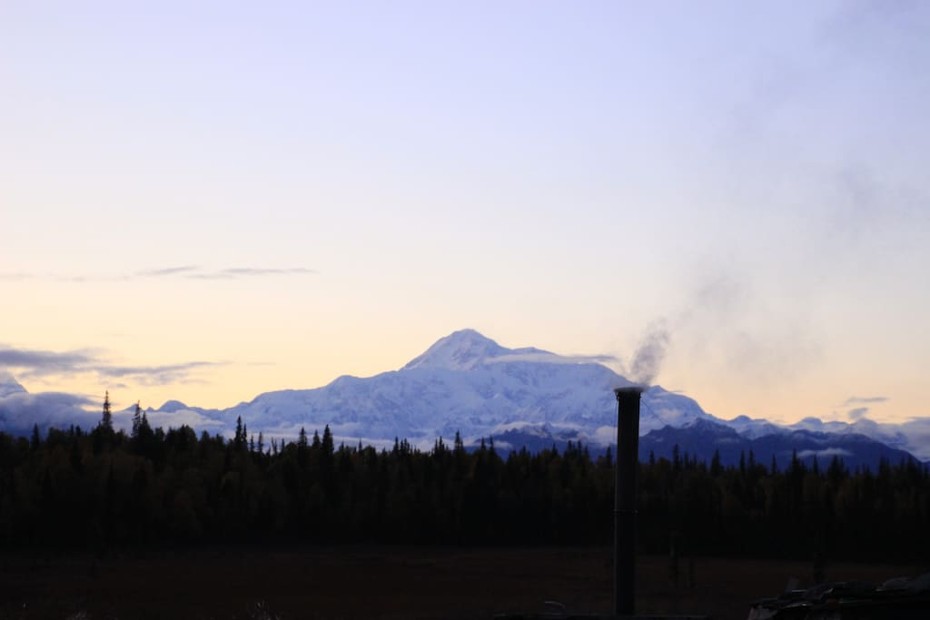 Great view with Denali