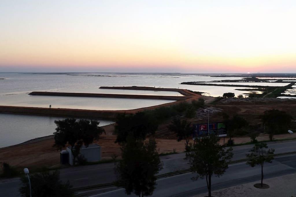 View to the salinas