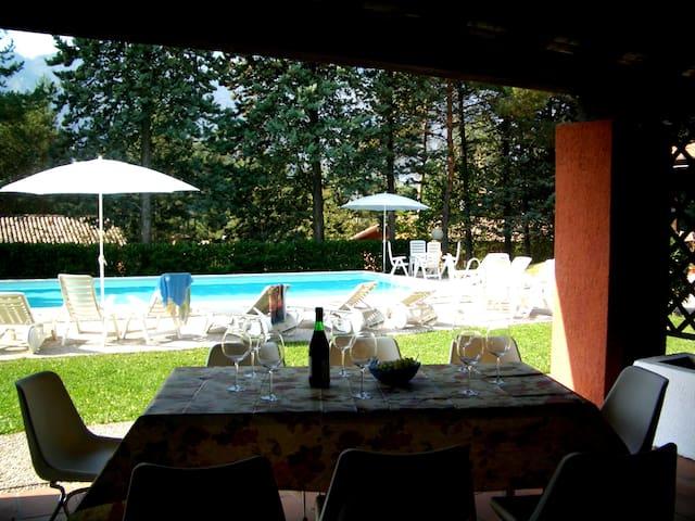 Villa (Casa A) on Lake Idro with Pool