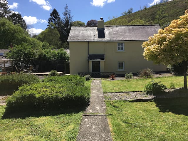 Carmarthen Wales cottage -hot tub, dogs welcome