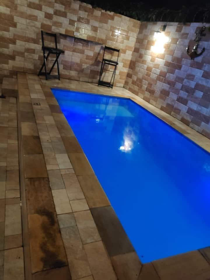 Casa com piscina Itanhaem