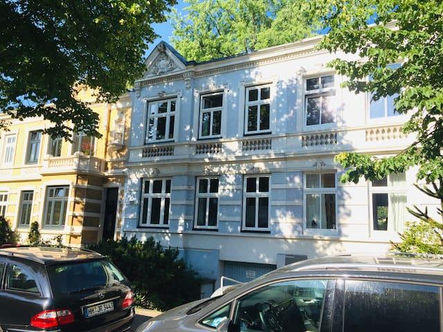 Wunderschönes Stadthaus im Centrum von Hamburg