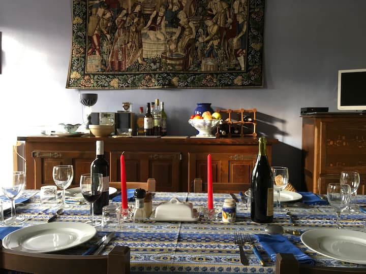 2 BR Apartment in Old Village House in Ceret