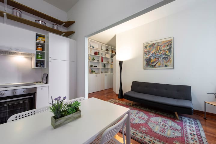 Stylish Apartment at Isola-Garibaldi District.