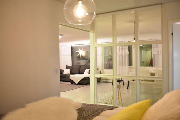 86m2 apartment with sauna
