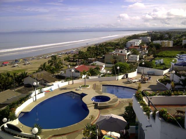 Expectacular view, beach front apt - Punta Blanca - Apartment