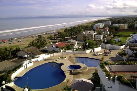 Expectacular view, beach front apt - Punta Blanca