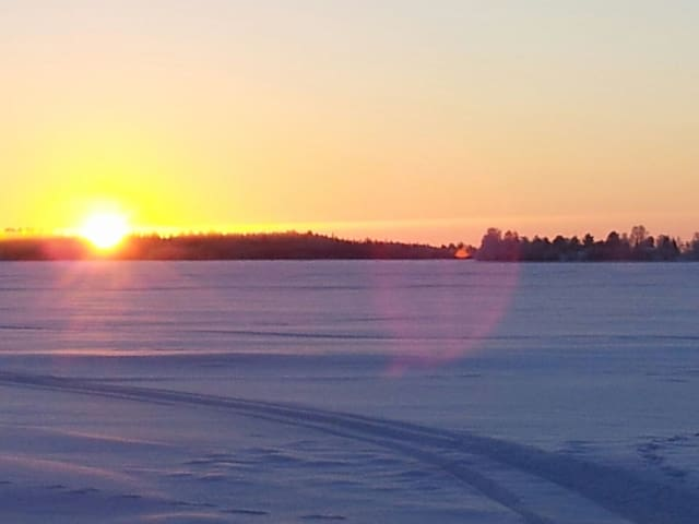 Sunset on January!
