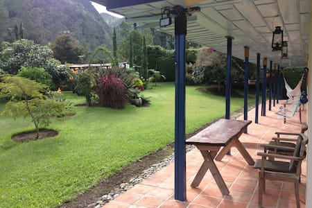 Beautiful country home in the Cocora Valley