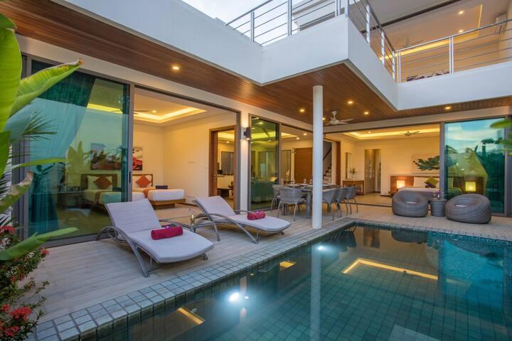 Private Pool Boutique Villa next to Rawai Beach