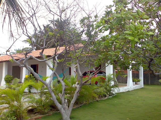 The Pink Dolphin House in Tabuba